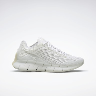 Women Classics White Zig Kinetica Shoes
