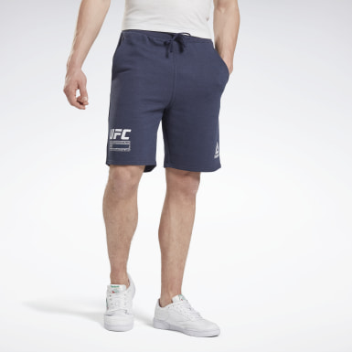 Männer Fitness & Training UFC FG Fight Week Shorts Blau