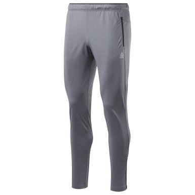 Men Training Grey Workout Ready Track Pants