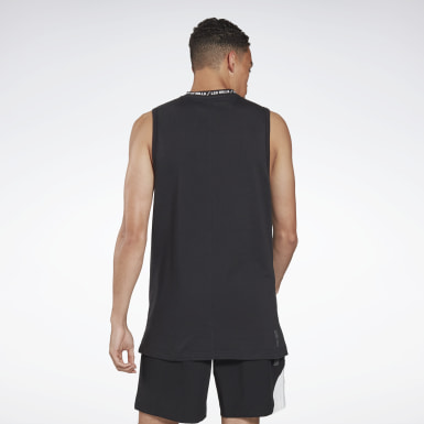 Men Studio Black LES MILLS® BODYPUMP® Tank Top