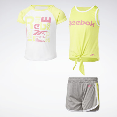 Girls Training 3-Piece Reebok Square Set