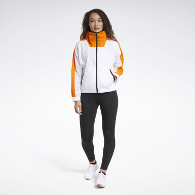 Women Fitness & Training White MYT Track Suit