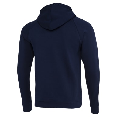 Men Fitness & Training Blue Hoddie Fleece Men