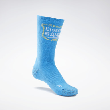 Training Blue CrossFit® Games Engineered Crew Socks