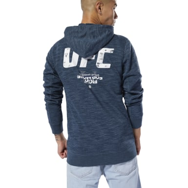 синий Худи UFC Fan Gear Full-Zip