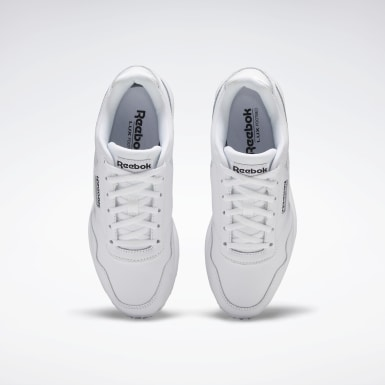 Women Classics White Reebok Royal Glide LX Shoes
