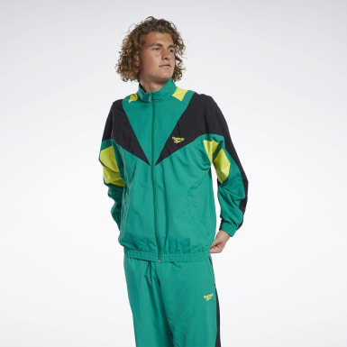 Classics Green Classics Twin Vector Track Jacket