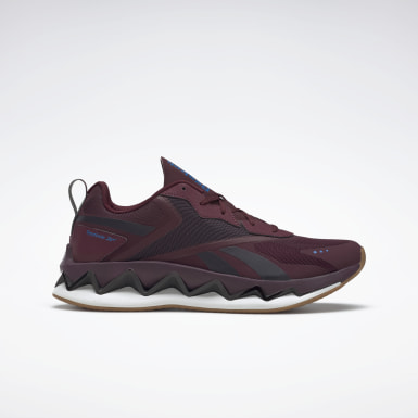 Classics Burgundy Zig Elusion Energy Shoes