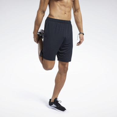 Men Cross Training Black Workout Ready ACTIVCHILL Shorts