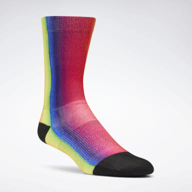 Pride Rainbow Crew Socks