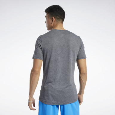 Men Cross Training Black ACTIVCHILL+COTTON Tee