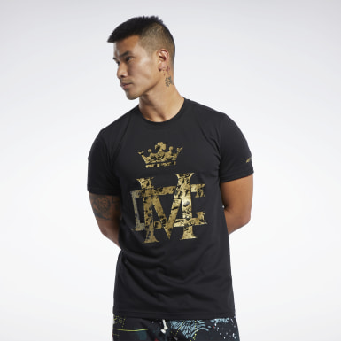 Men Fitness & Training Black Combat Conor McGregor Tee