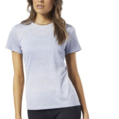 Women Running Blue One Series Running Knit Tee