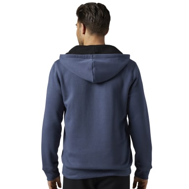 синий Худи Elements Fleece Full Zip Hoodie