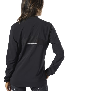Women Running Black Running Essentials Wind Jacket