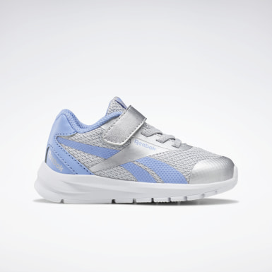 Kids Running Silver Reebok Rush Runner 2.0 Shoes