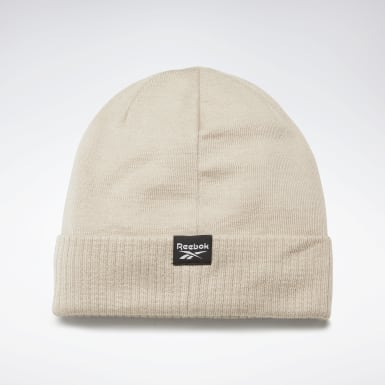 Running White Active Enhanced Winter Beanie