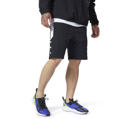 Short Meet You There Woven Nero Uomo Fitness & Training