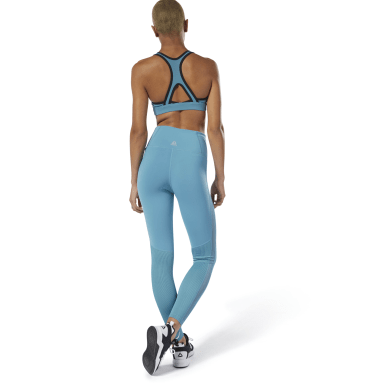 Women Studio Turquoise Cardio Lux High-Rise Tights