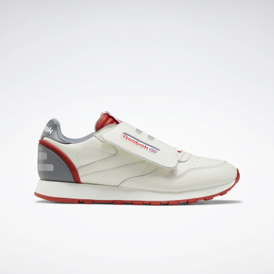 Mænd Classics White Classic Leather Stomper Shoes