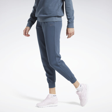 Women Classics Blue Classics Washed Pants