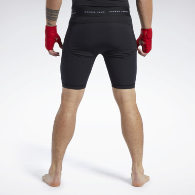 Men Fitness & Training Black Combat CMG Vale Tudo Shorts