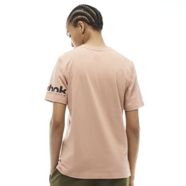 Women Training Beige VB Tee