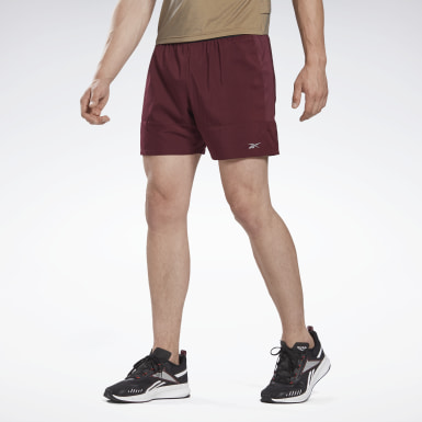 "Shorts Run Essentials 5"" Granate Hombre Correr"