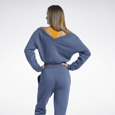 Women Studio Blue Studio Restorative Sweatshirt
