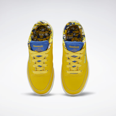 Kids Classics Yellow Club C 85 Shoes