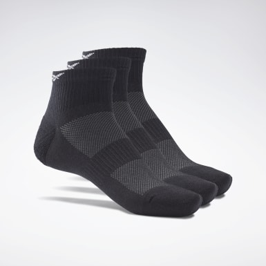 Calcetines tobilleros Active Foundation - Pack de 3 Negro Fitness & Training