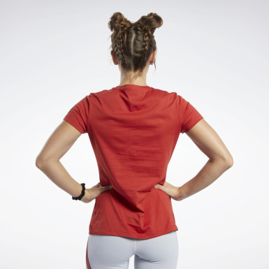 Dames Crosstraining Reebok CrossFit® Aambeeld T-shirt