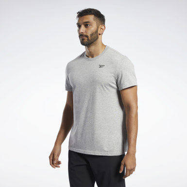 Mænd Yoga Grey Training Essentials Classic Tee