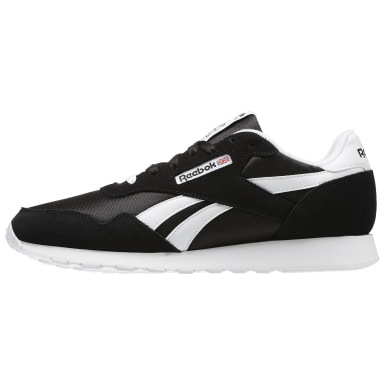 Men Classics Black Reebok Royal Nylon