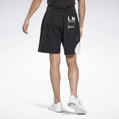 Men Studio Black LES MILLS® Archive Evo Shorts