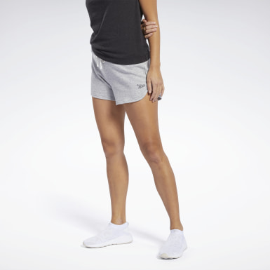 Short Training Essentials Grey Femmes Entraînement