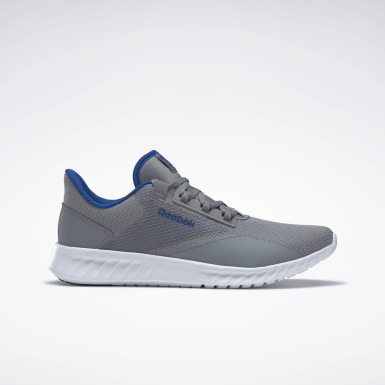 Men Running Grey Reebok Sublite Legend Shoes
