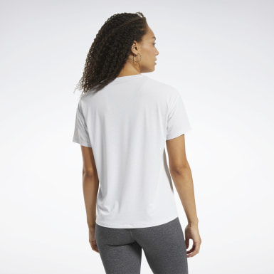 Women Hiking White ACTIVCHILL Graphic Tee