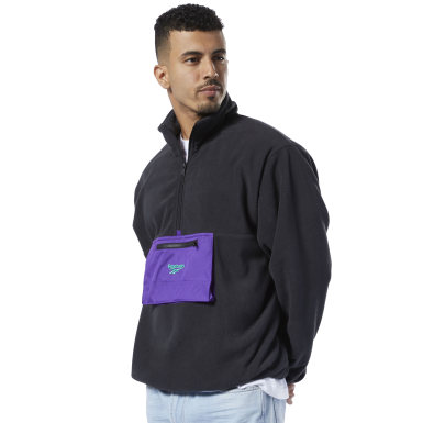 Sweat demi-zip