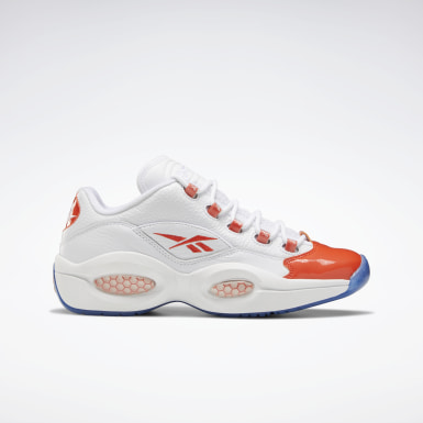 Classics White Question Low Men's Basketball Shoes