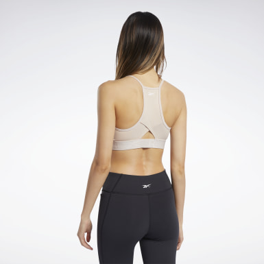 Strappy Back Low-Impact Bra