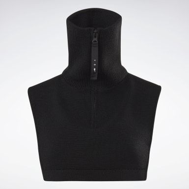 Women Classics Black VB Neck Warmer