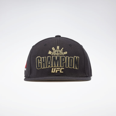 Fitness & Training Black UFC Champ Cap
