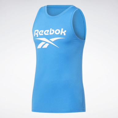 Men Cross Training Blue WOR SUP BL TANK