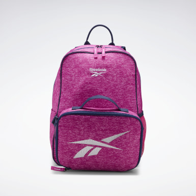 Kids Training Reebok Backpack w/ Lunchbox
