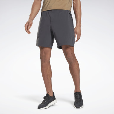 Men Running Grey Night Run 6-Inch Shorts