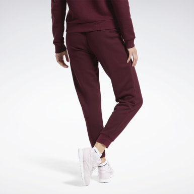 Dam Classics Burgundy Classics French Terry Pants