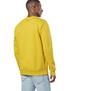 Classics Yellow Classics International Crew Sweatshirt