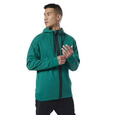 Men Fitness & Training Green Training Supply Hoodie