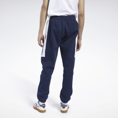 Men Classics Blue Classics Linear Pants